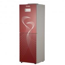 Напольный кулер с холодильником (LC-AEL-602b) red