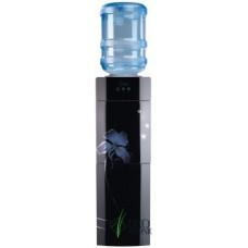 Кулер для воды напольный со шкафчиком Ecotronic M21-LCE Black